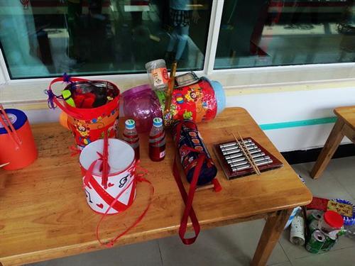 幼儿园手工制作古筝